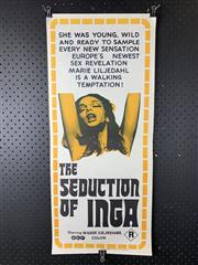 Sale 9003P - Lot 40 - Vintage Movie Poster - The Seduction of Inga