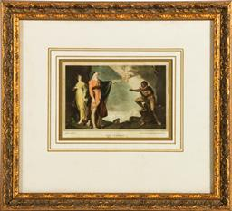 Sale 9164 - Lot 435 - Framed lithograph of the tempest (Frame size 32cm x 35cm)