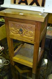 Sale 8013 - Lot 1072 - Single Drawer Stand