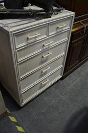 Sale 8031 - Lot 1100 - Chest Of 6 Drawers