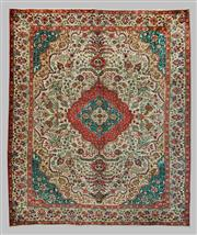 Sale 8539C - Lot 2 - Vintage Persian Tabriz 308cm x 368cm