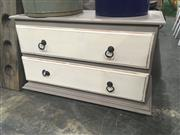 Sale 8740 - Lot 1433 - Hand Painted Chest Of Two Drawers