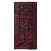 Sale 8890C - Lot 27 - Iran Antique Nomadic Bidjar Rug, Circa 1940, 239x114cm, Handspun Wool