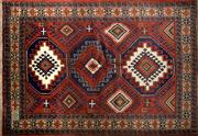 Sale 8276B - Lot 32 - Persian Shiraz 102cm x 140cm RRP $500