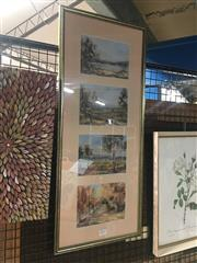 Sale 8751 - Lot 2093 - Group of Original Paintings and Decorative Prints