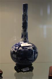 Sale 7989 - Lot 73 - Chinese Blue and White Vase on Stand