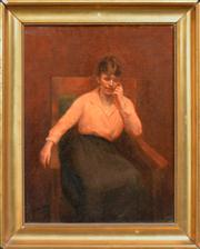 Sale 8374 - Lot 578 - Gordon Coutts (c1875 - 1937) - The Idle Hour 49.5 x 37cm