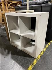 Sale 8876 - Lot 1029 - Painted Timber Open Shelving