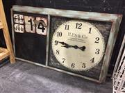 Sale 9006 - Lot 1006 - French Inspired Calendar Clock (H:104 x W:63cm)