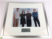 Sale 8645D - Lot 82 - Signed Seinfeld Cast Members Photo