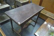 Sale 8272 - Lot 1055 - Restorable Fold Over Card Table