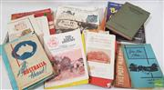 Sale 8900 - Lot 2 - 2 Boxes of Various Ephemera incl. Painting from A-Z; Wunderlich Corrugated Durabestos; Australian House & Garden Book of Small...