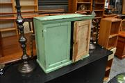Sale 8465 - Lot 1659 - Rustic Timber Cabinet
