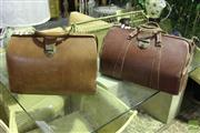 Sale 8499 - Lot 1033 - Pair Of Leather Doctors Bags