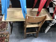 Sale 8854 - Lot 1047 - Early Desk and Chair