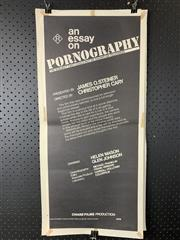 Sale 9003P - Lot 44 - Vintage Movie Poster - An Essay on Pornography