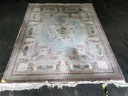 Sale 9017 - Lot 1092 - Large Chinese Woollen Rug (307 x 245cm)