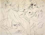 Sale 8401 - Lot 591 - Francis Lymburner (1916 - 1972) - Sketches various sizes