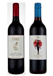 Sale 8515W - Lot 39 - 12x Evoi Wines, Margaret River. 6x NV Backenal Red. 6x 2014 Cabernet Sauvignon.  NV Backenal Red: 90/100 Ray Jordan To...
