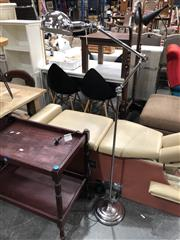 Sale 8839 - Lot 1298A - Chrome Articulated Floor Lamp