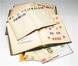 Sale 9190 - Lot 80 - A collection of stamps inc four albums and others