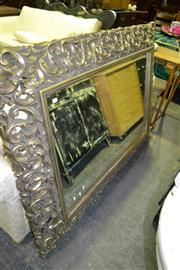 Sale 8093 - Lot 1504 - Ornately Framed Mirror