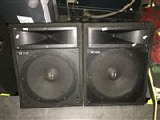 Sale 8659 - Lot 2201 - TOA 156 Wedge Monitor Speakers