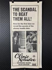 Sale 9003P - Lot 46 - Vintage Movie Poster - Clinic Xclusive