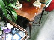 Sale 7969A - Lot 1060 - Tiered Shield Top Side Table