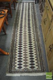 Sale 8284 - Lot 1016 - Persian Nain (280 x 74cm)