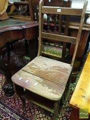 Sale 8495F - Lot 1028 - Library Step Chair