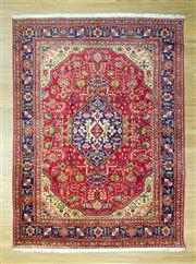 Sale 8585C - Lot 19 - Persian Tabriz 330cm x 245cm