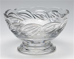 Sale 9253 - Lot 52 - A Carlton United Breweries Sire Stakes glass trophy bowl (Dia:20cm)