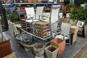 Sale 7987A - Lot 1224 - Urban Outdoor Setting with Table & 6 Chairs