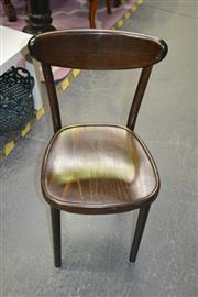 Sale 8093 - Lot 1103 - Set Of 4 Thornet Bentwood Chairs