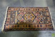Sale 8506 - Lot 2091 - Persian Rug in Browns 134x81cm