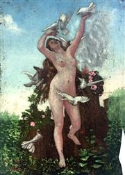 Sale 8544A - Lot 5002 - French School - Persephone 29 x 21cm