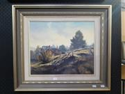 Sale 9065 - Lot 2036 - John Wilson Early Morning Light, Hartley oil on canvas 57x67cm, signed lower right