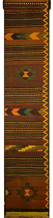 Sale 8335C - Lot 63 - Persian Kilim Runner 400cm x 60cm
