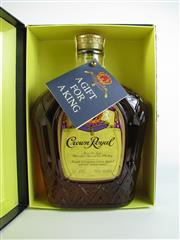 Sale 8340A - Lot 987 - 1x Crown Royal Blended Canadian Whisky - 40% ABV, 750ml in presentation box