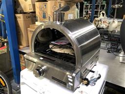Sale 9176 - Lot 2185 - Euro Grille stainless steel gas pizza oven