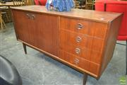 Sale 8260 - Lot 1055 - Parker Sideboard with Cats Eyes Handles