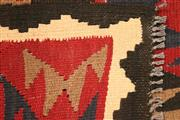 Sale 8445K - Lot 2 - Maimana Afghan Kilim Rug , 297x198cm, Handwoven in Northern Afghanistan using durable local wool. Traditional and reversible slit we...