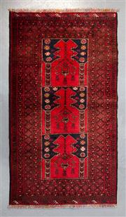 Sale 8480C - Lot 24 - Vintage Persian Turkman 180cm x 100cm