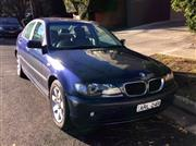 Sale 8562A - Lot 2 - A 2003 BMW 318i VIN: WBAA272000NG23508, ENGINE NU: A200H044, Australian delivered oct/2003 100,500kms 5 Speed auto Service h...