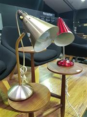 Sale 8669 - Lot 1022 - Two Retro Table Lamps