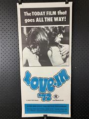 Sale 9003P - Lot 50 - Vintage Movie Poster - Love in 72
