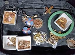Sale 9254 - Lot 2178 - Packet of Dress Jewellery incl Necklaces & Bangle