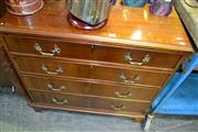 Sale 8115 - Lot 1072 - Victorian Chest of 4 Drawers