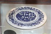 Sale 8292 - Lot 59 - Ching Period Blue & White Plaque